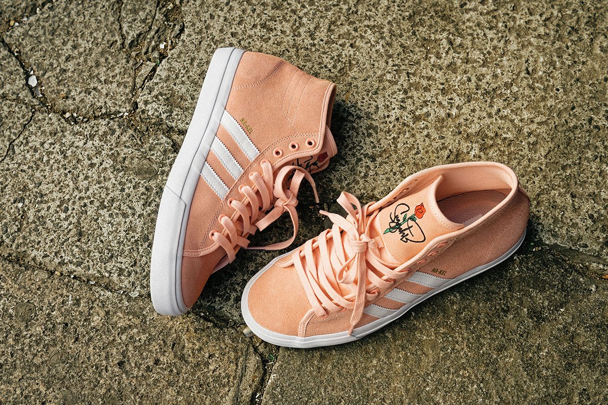 timeless design 953b8 ea945 Na-Kel Smith x adidas Skateboarding Matchcourt High RX