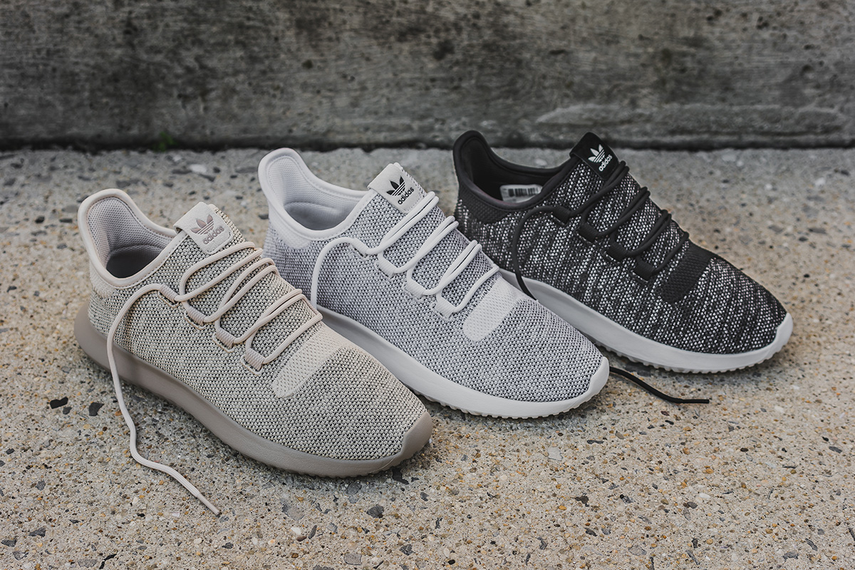adidas tubular shadow knit sneaker white