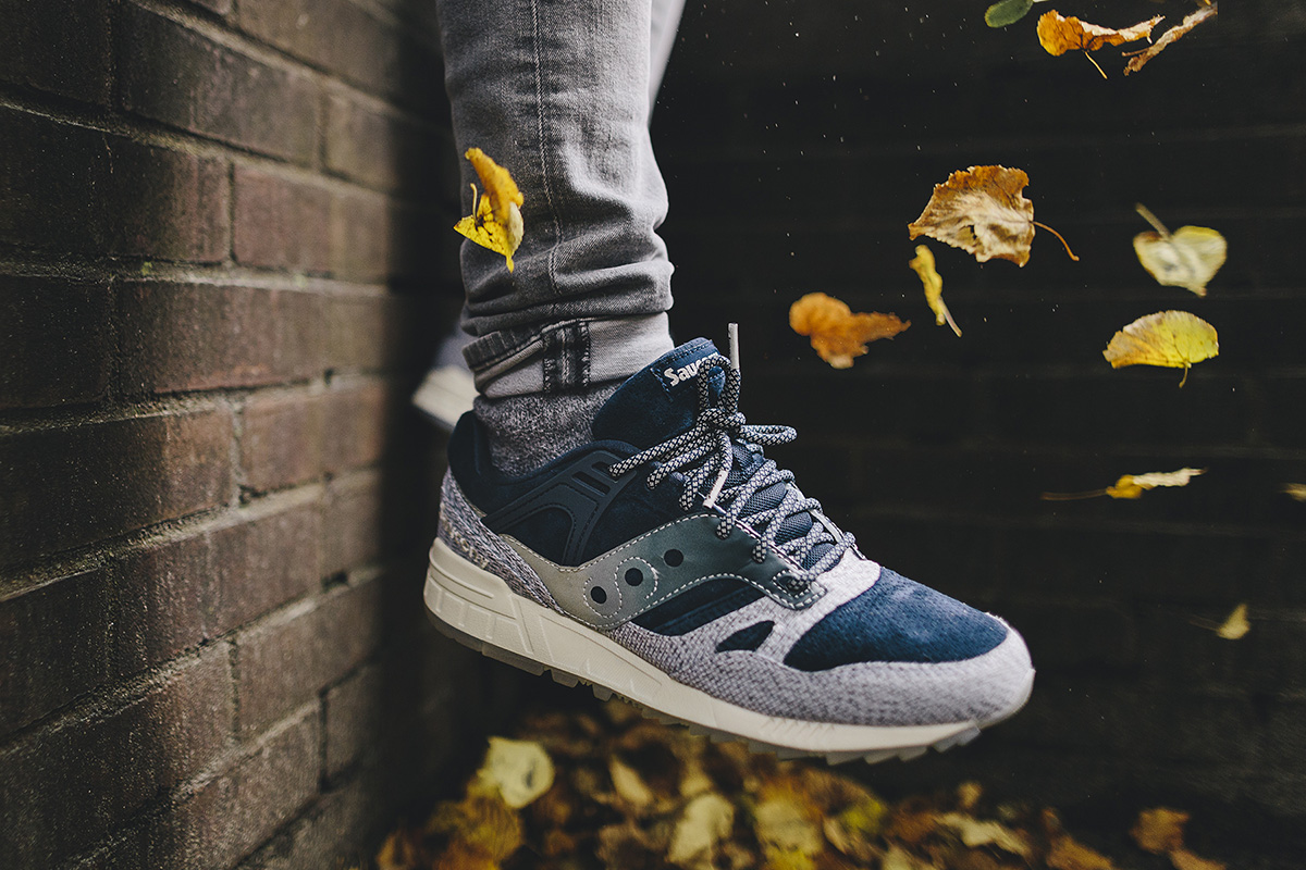 Saucony Grid 8000 in GREY Grey – Dirty Snow II Pack