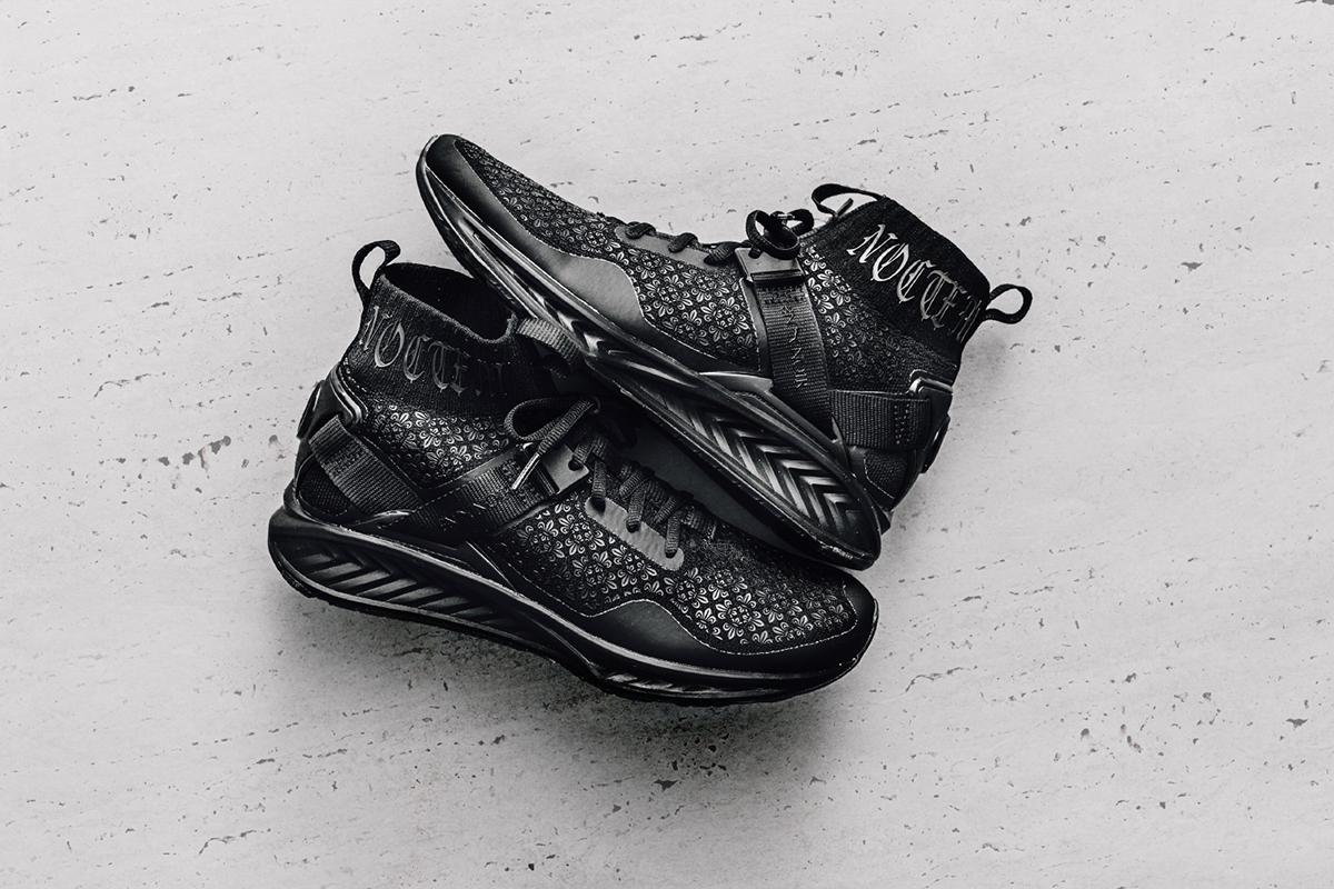 puma x en noir ignite evoknit sneaker