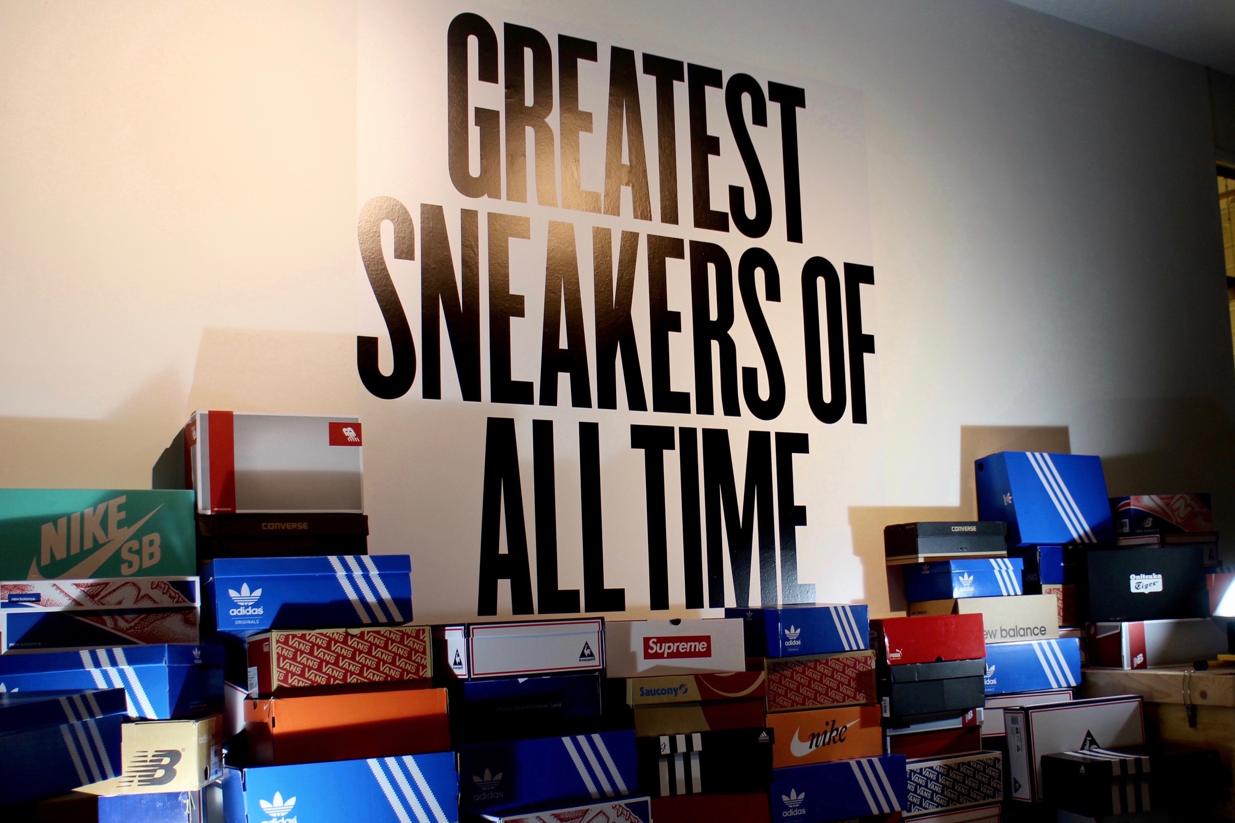 Greatest Sneakers Of All Time Exhibition - Event Opening Recap - OG EUKicks  Sneaker Magazine 0fad13c55
