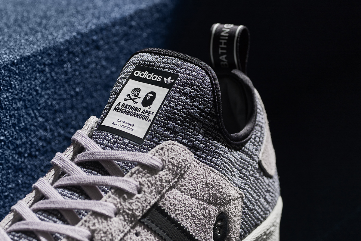 adidas superstar boost x bape x neighborhood