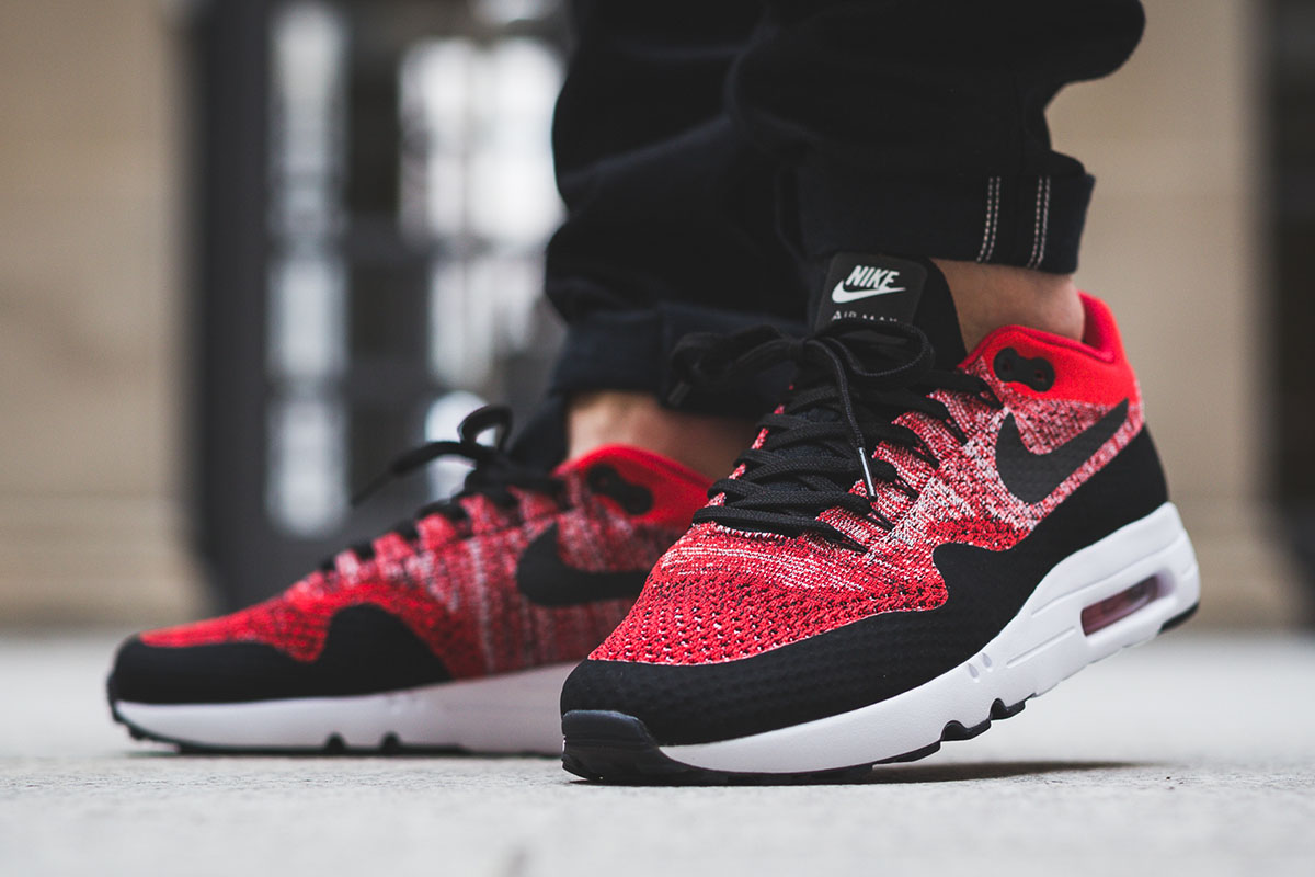 ... On-Foot Nike Air Max 1 Ultra 2.0 Flyknit ...