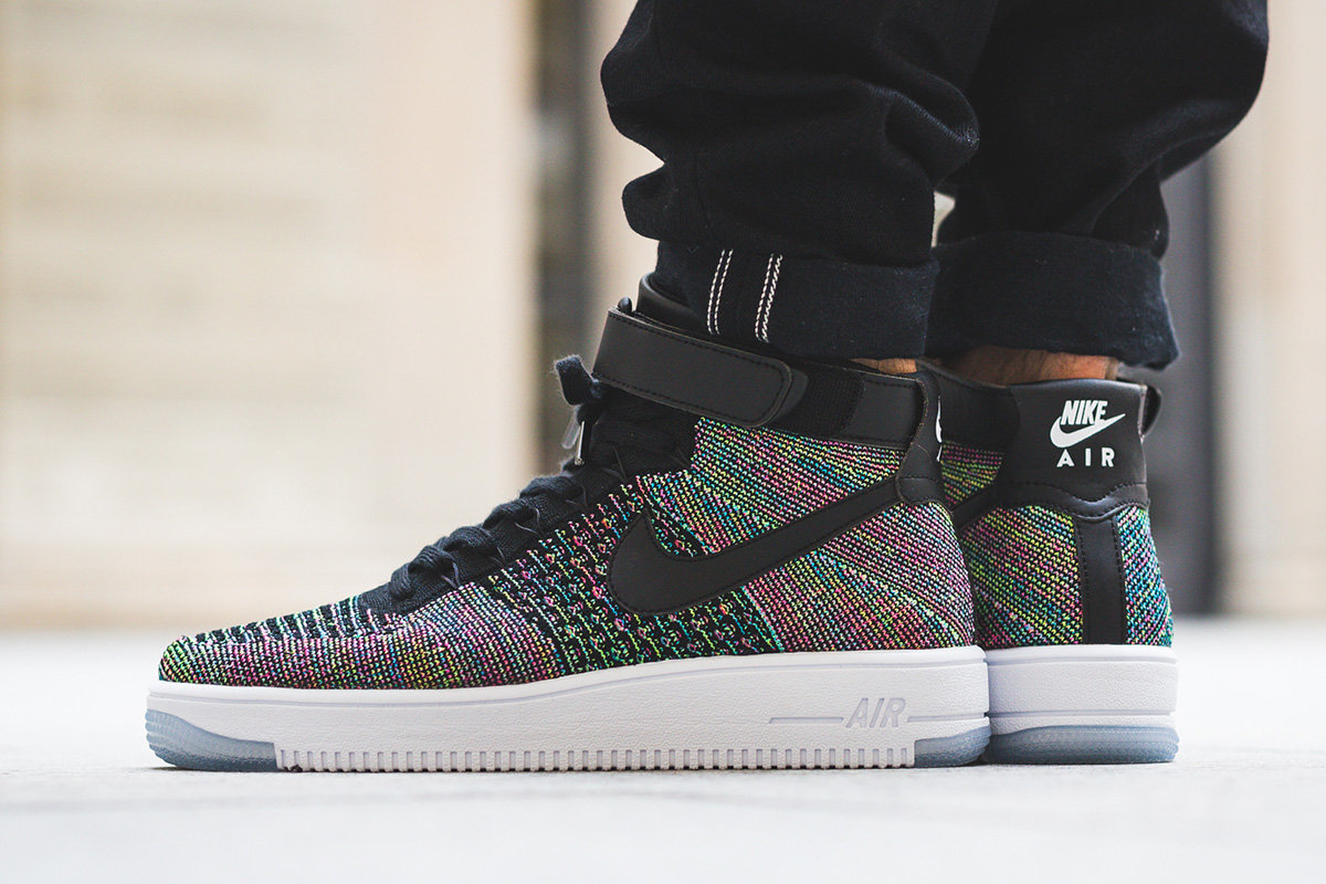 "cheap for discount 8739a 6e567 On Foot: Nike Air Force 1 Ultra Flyknit Mid ""Black ..."