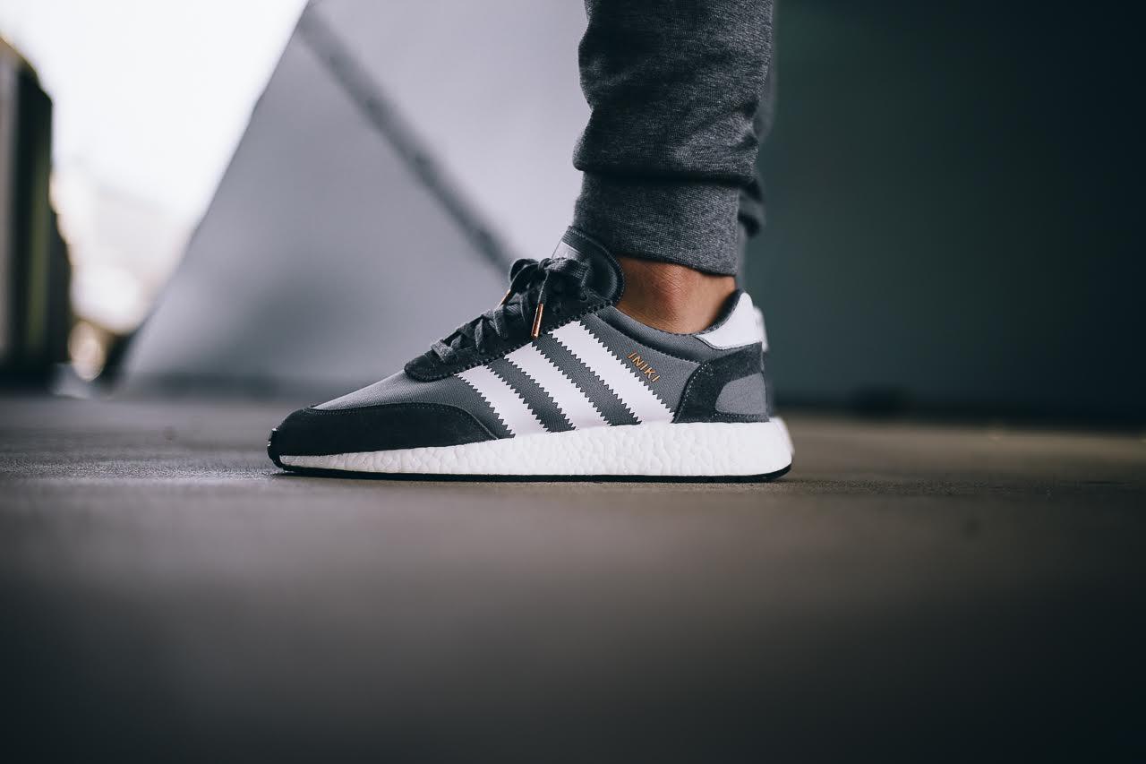 online store 089ba 981d4 ... adidas Originals Iniki Runner On Foot Preview - EU Kicks Sneaker  Magazine ...