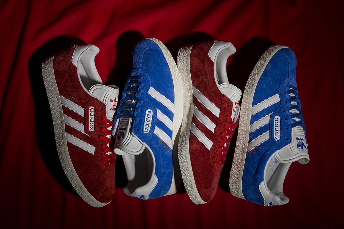 newest collection 257f8 06fab adidas Originals Drops Two Gazelle Super Colorways for January