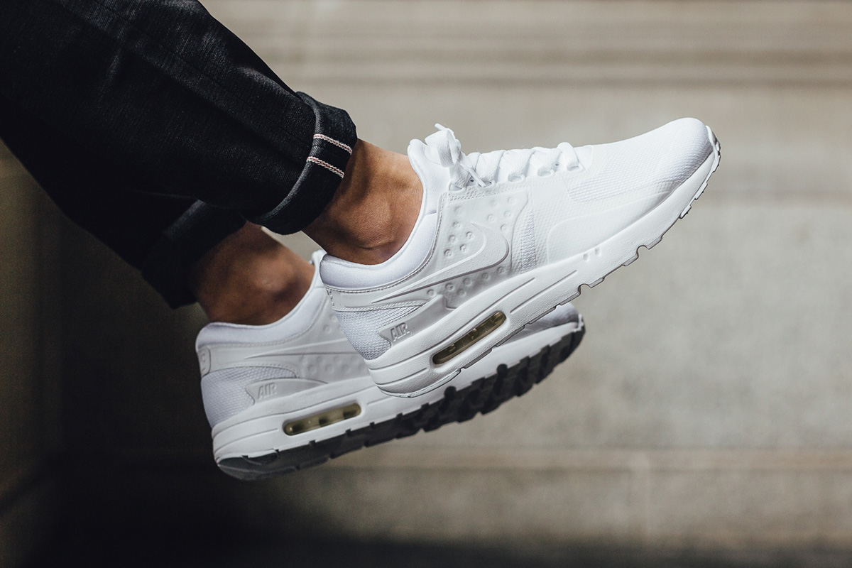 more photos 5fa21 12a2a promo code for nike air max zero essential white wolf 878e0 ff32e