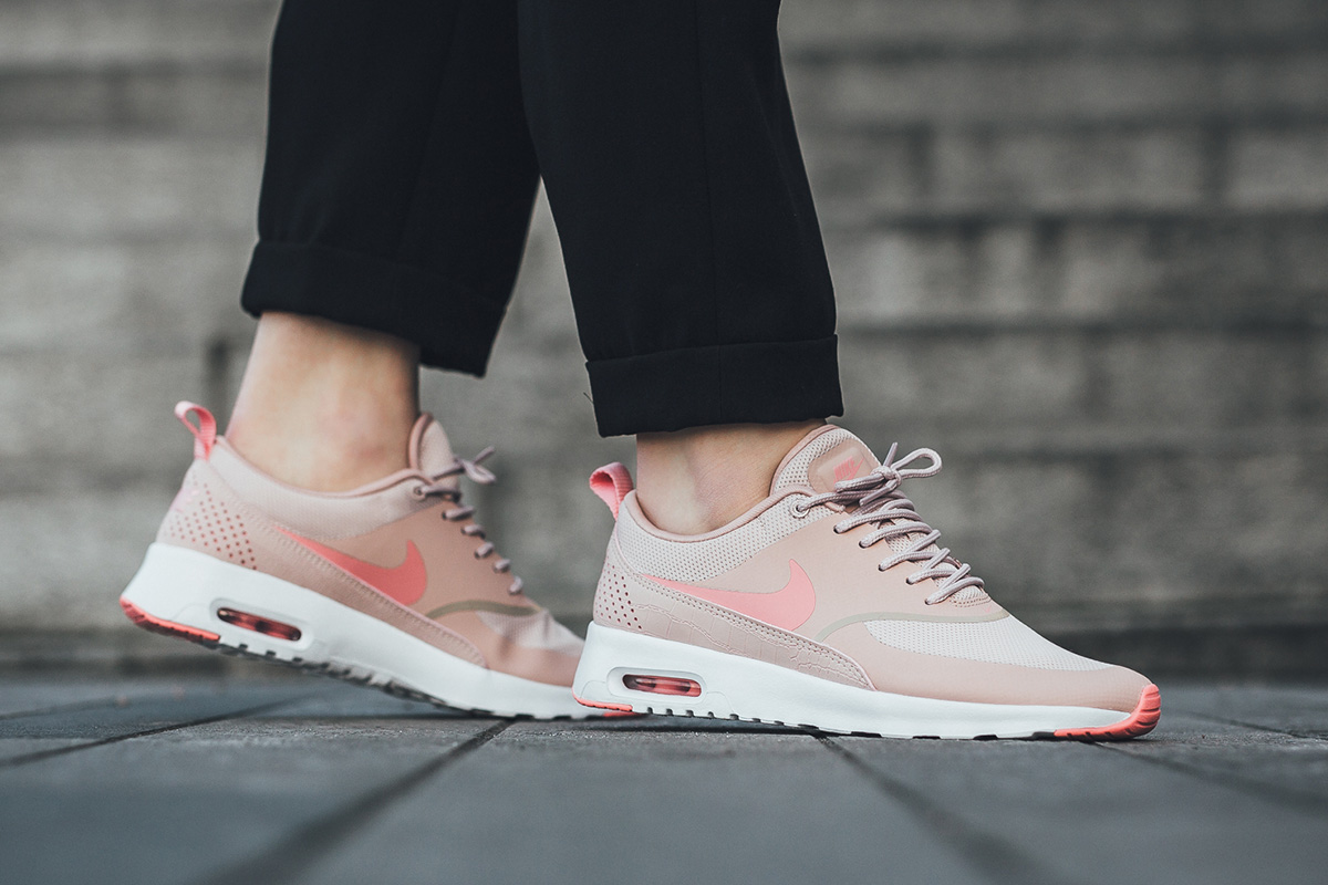 detailed pictures uk cheap sale on feet images of switzerland air max thea pink oxford 52463 0d1e0