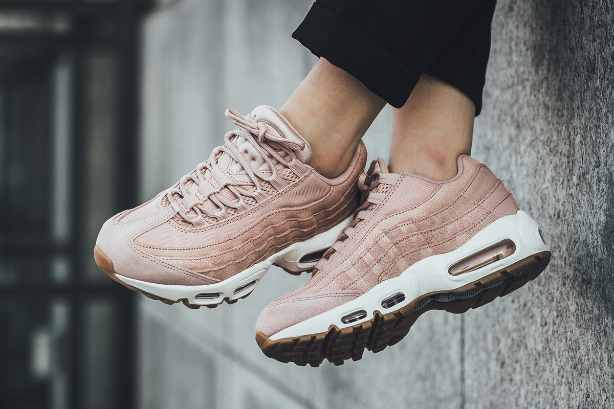 9236d30077d539 nike air max 95 premium pink oxford