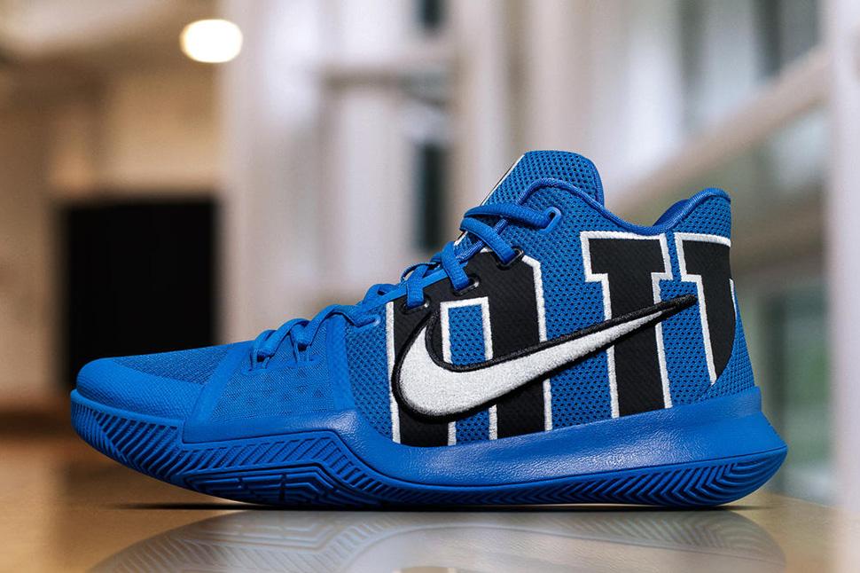 "online store 99e9b 1e719 Nike KYRIE 3 ""Duke"" (Release Date) · The Duke Blue Devils have a Nike Zoom KD  9 PE"