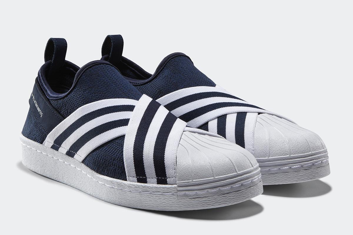 WHITE MOUNTAINEERING X Adidas Originals Super Star sneakers LmWMIAGHxl