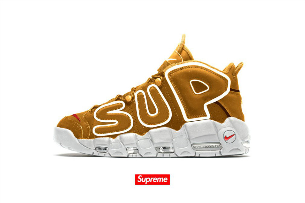 Preview: Supreme x Nike Air More Uptempo