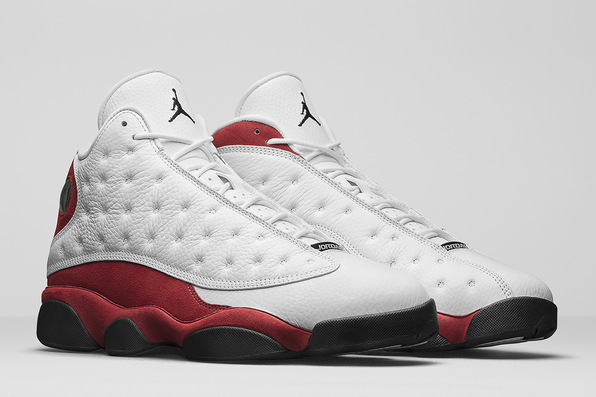 reputable site bb997 c9923 ... closeout air jordan 13 retro returning in og white red official  pictures ba673 91bf2