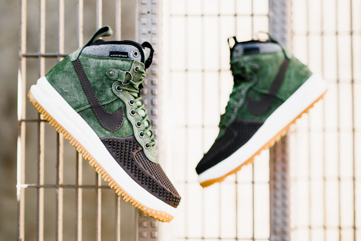 best sneakers 4153e fb648 ... italy nike lunar force 1 duckboot army olive a09dc d0e1e