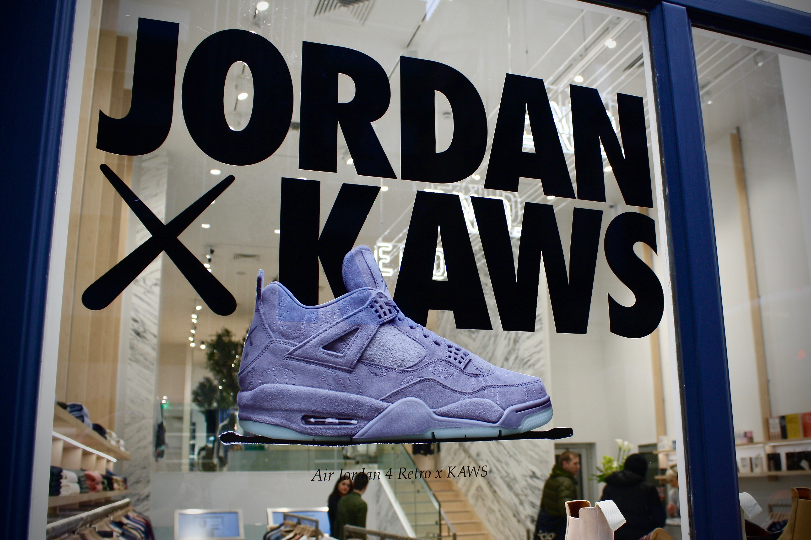 info for ef3c2 de6cf Nike Air Jordan IV x Kaws Release Recap – End Clothing Glasgow
