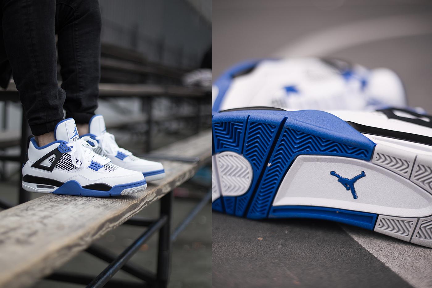 sneakers for cheap 134cc 88da8 jordan 4 motorsport on feet