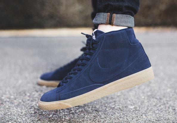 quality design fa9ff 23c6d Nike Blazer Mid Premium  Binary Blue on Gum