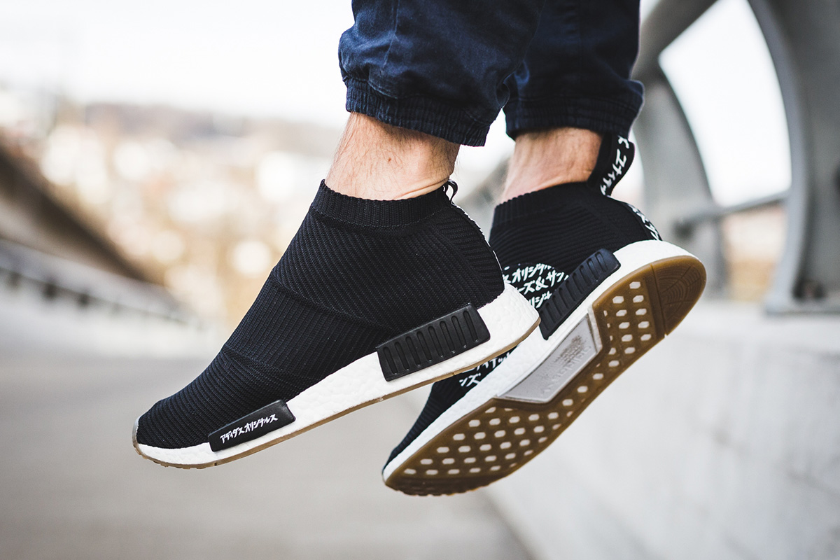 64014a042d6c6 On-Foot  MIKITYPE x United Arrows   Sons x Adidas NMD CS1 Primeknit