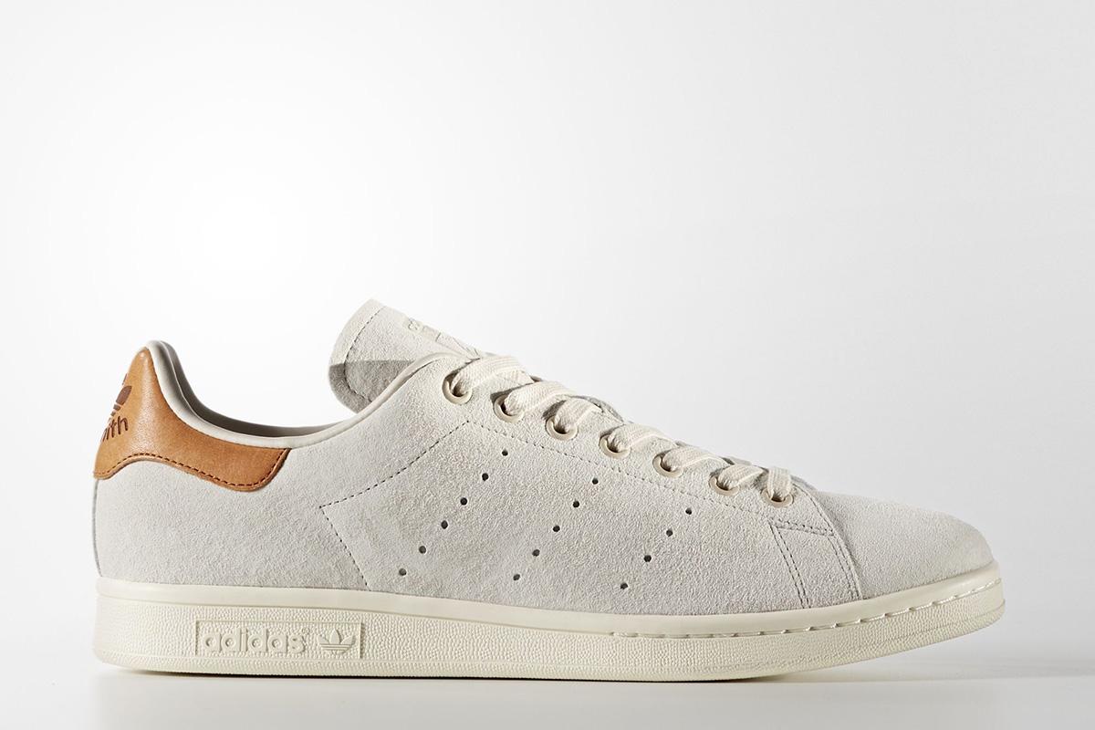 adidas stan smith white brown