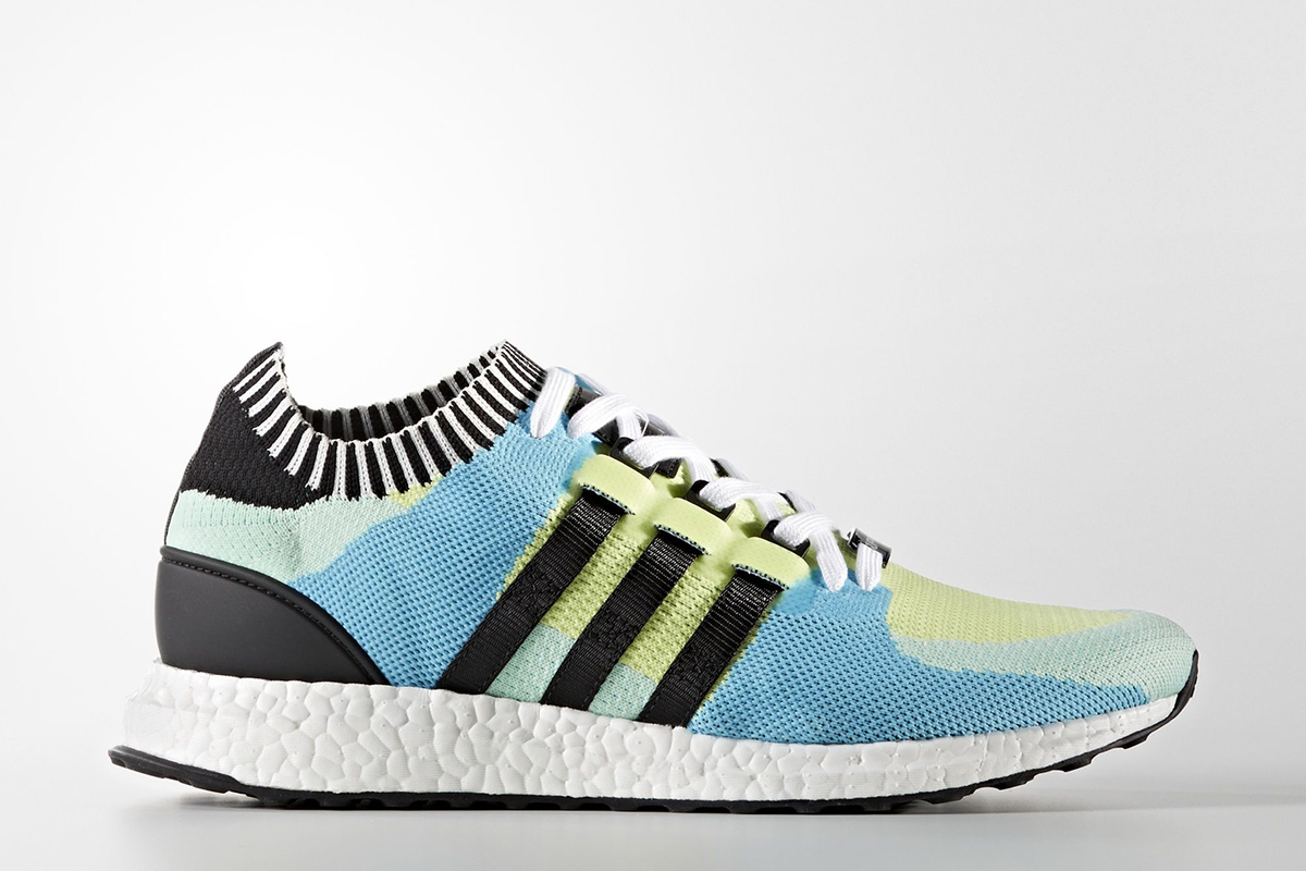 adidas eqt support ultra primeknit frozen yellow