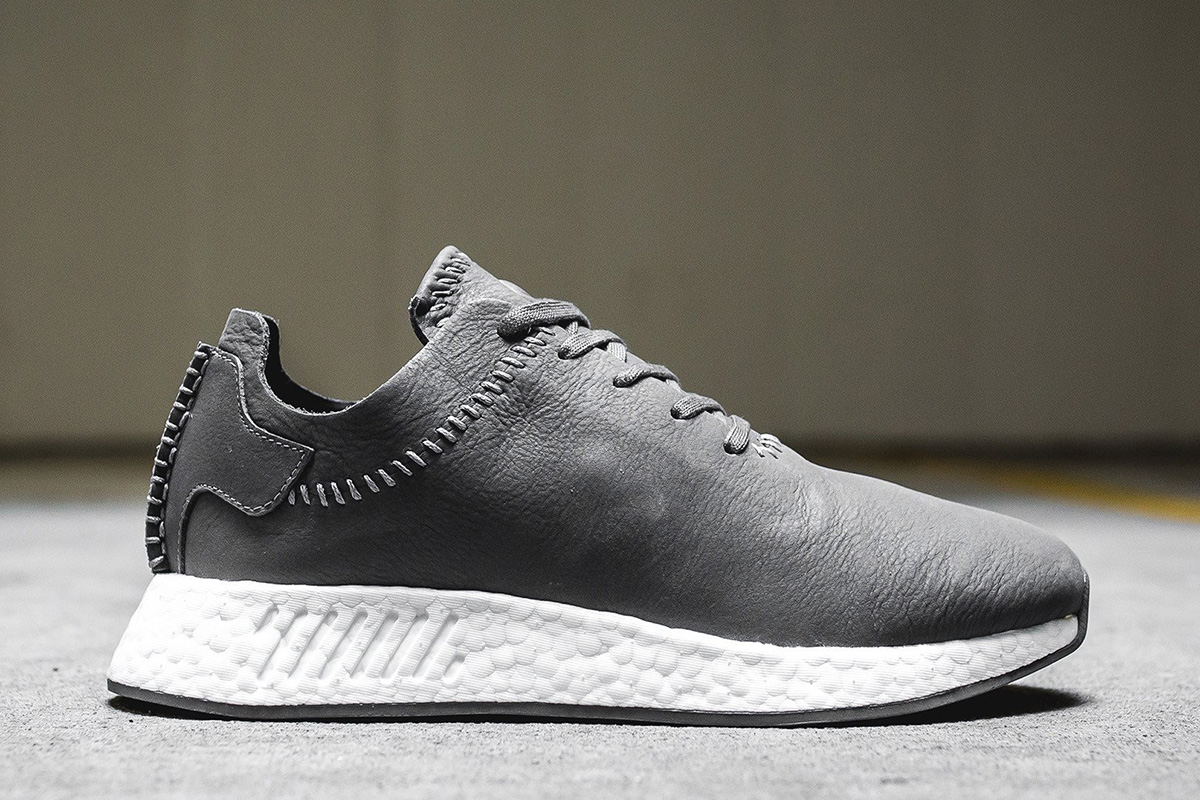 buy popular 980d3 eb734 wings+horns x adidas Originals NMD R2 Leather