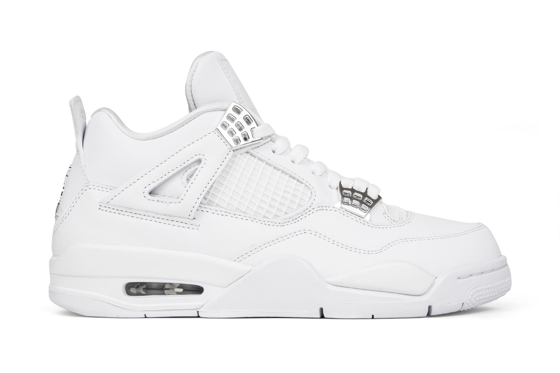new styles 0aa8d 30316 ... Nike Pure Money Air Jordan 4 308497-100 Medial  Air Jordan 4 Retro  Air  Jordan 4 Retro ...