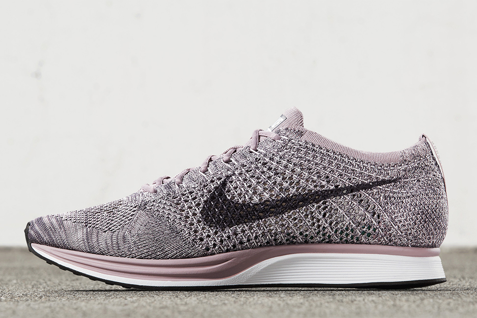 online store 964d4 44905 ... Air VaporMax Flyknit, Classic Cortez, Air Zoom Pegasus 34   Apparel ·  For May, Nike Running Dresses the Flyknit Racer in Four Macaron Flavors