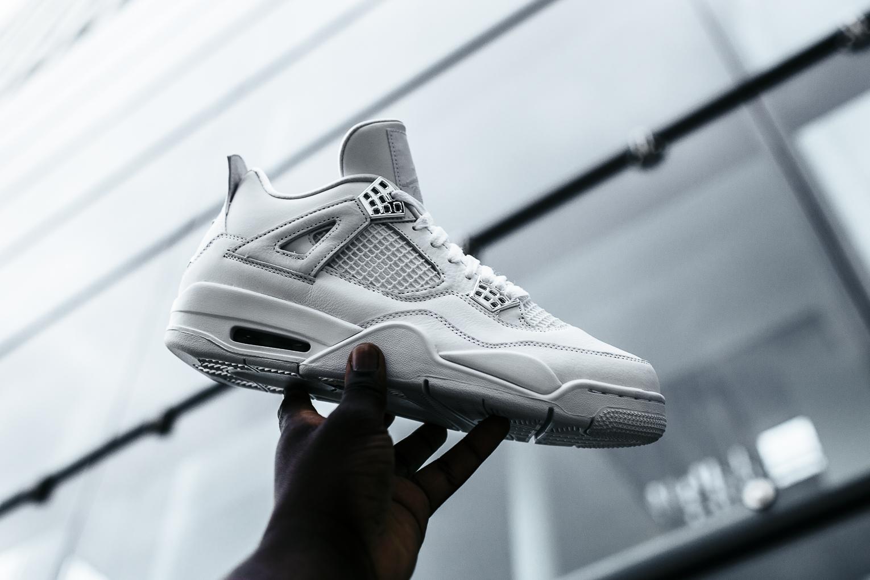 brand new c4e81 3ae53 Nike Air Jordan IV  Pure Money  - BSTN On Foot   Preview - OG EUKicks  Sneaker Magazine