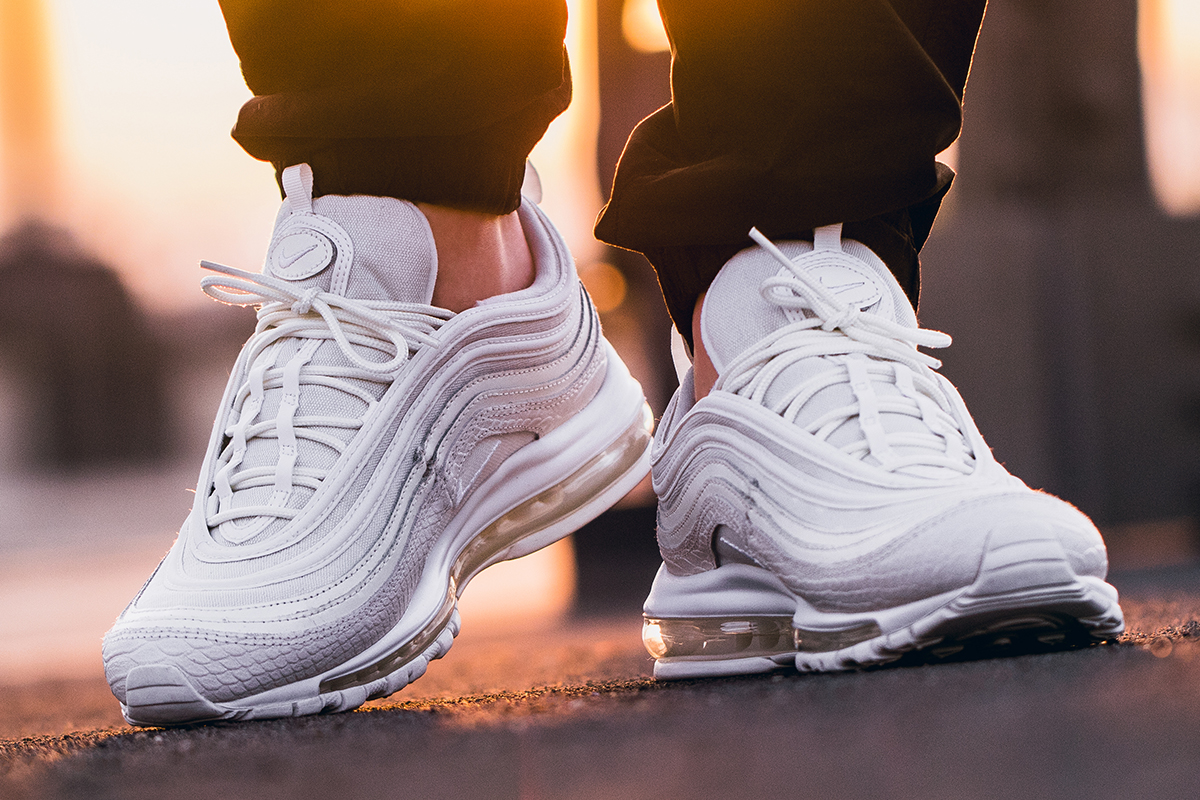 Air Max 97 Summit White On Feet 934773
