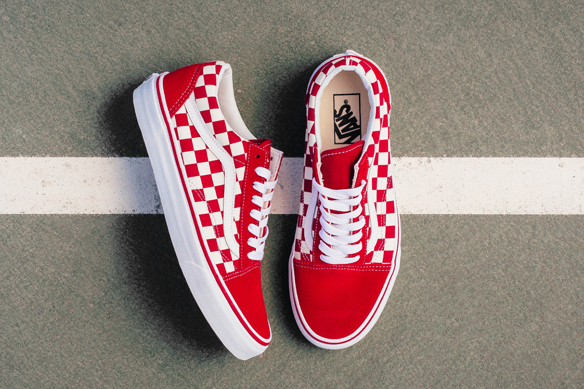red vans old skool europe