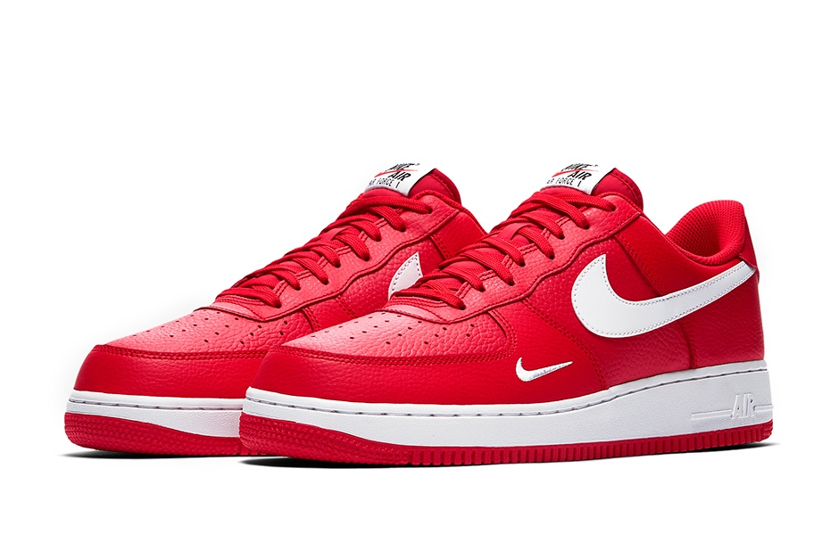 nike air force 1 rosse