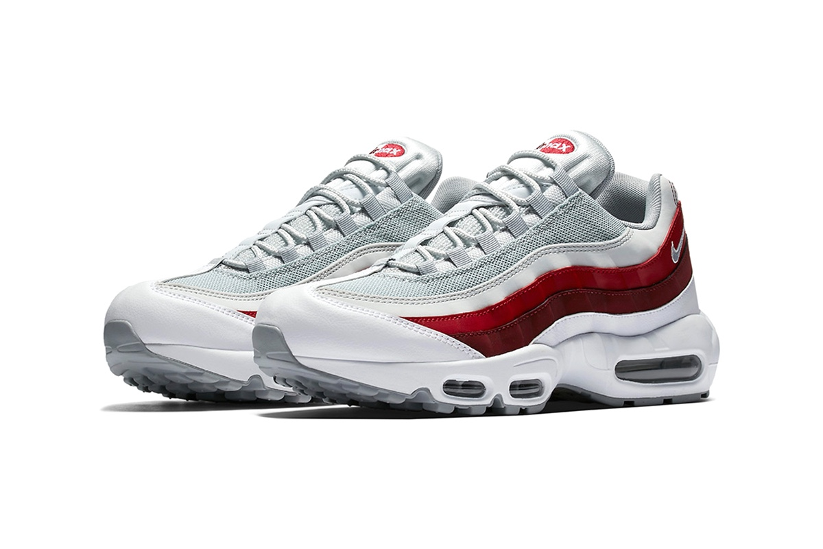 official photos b7a7d c3091 ... ireland 2017 colorways preview nike air max 95 in wolf grey team red  3d623 0d316