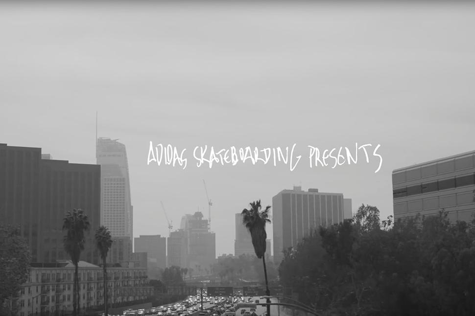 "adidas Skateboarding Skates Los Angeles in ""Mid-City Merge"""