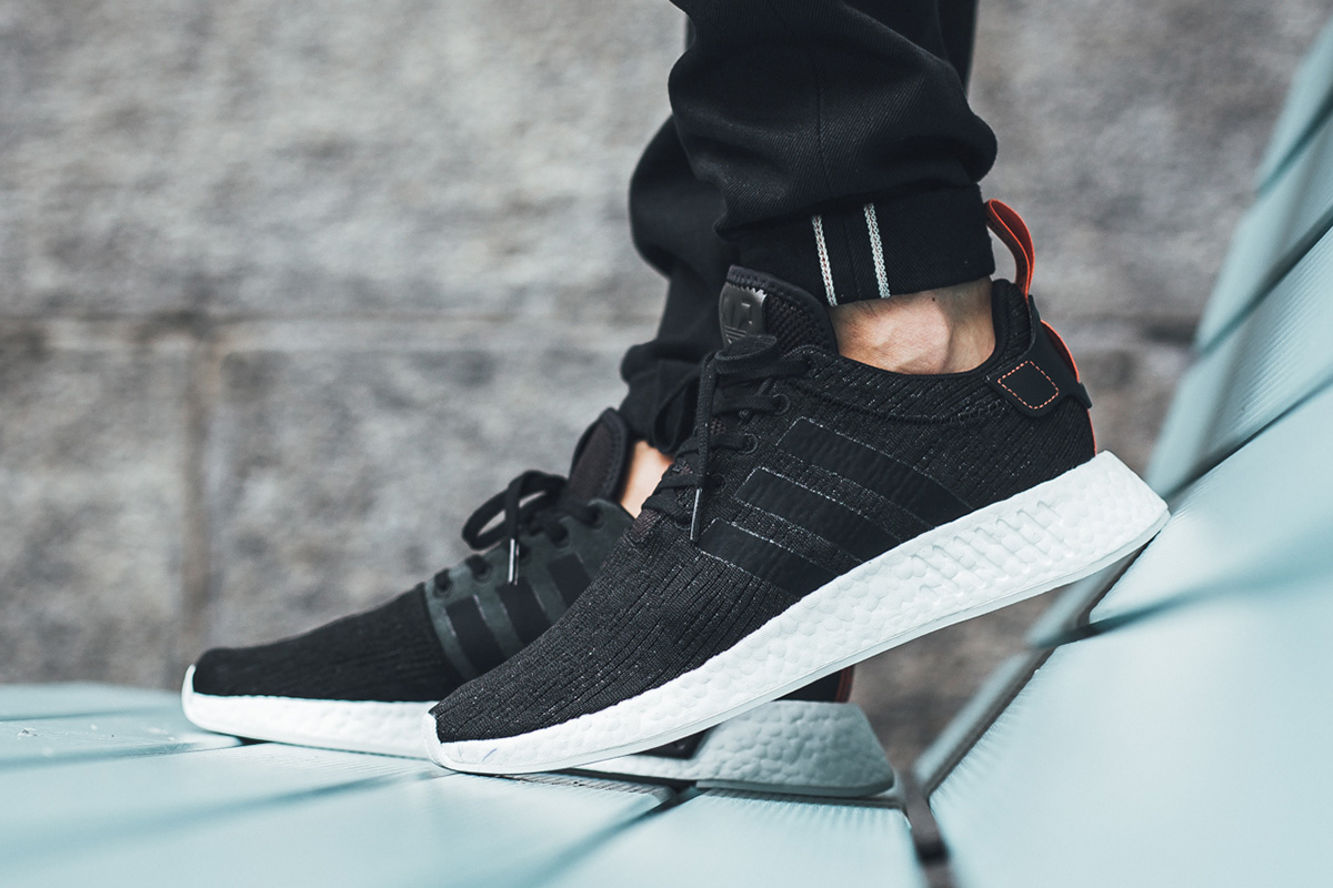 the best attitude d46ae e4542 ... Black Future Harvest) adidas NMD R2 ...