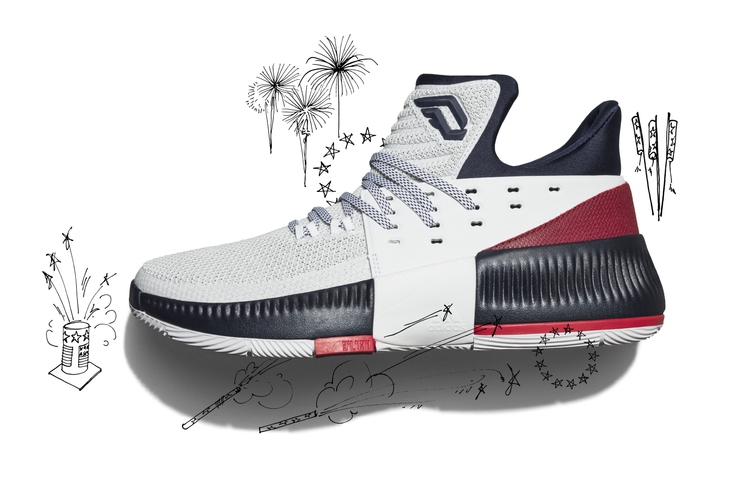 best cheap 83b4f f409b adidas Dame 3 Releasing in Two Colorways for July - OG EUKicks Sneaker  Magazine