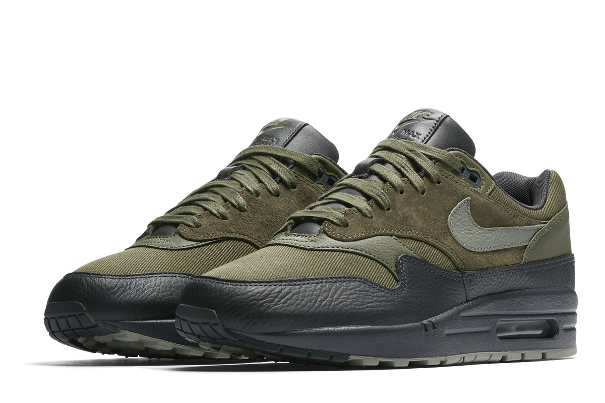 6f5b266fa8e1 ... best preview nike air max 1 premium dark stucco green 71ae8 9b3a4