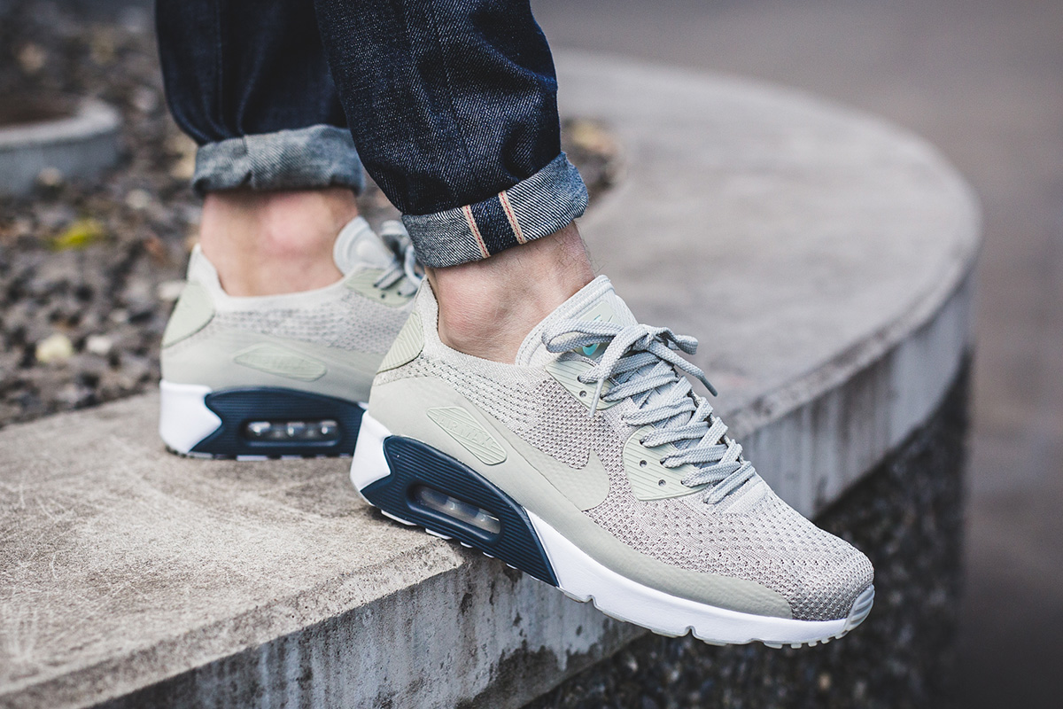 c796f08ccf ... promo code for nike air max 90 ultra 2.0 flyknit pale grey armory 9d57b  fddf6