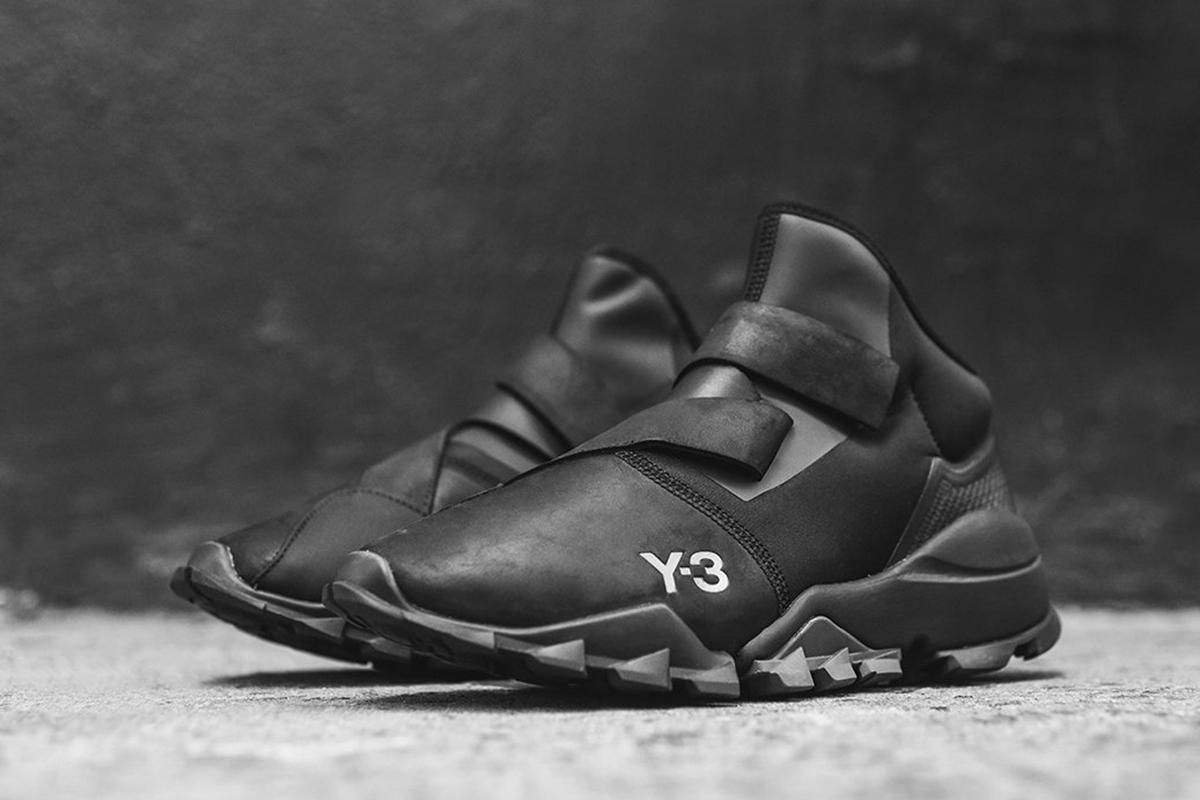 "adidas Y-3 Ryo in ""Black/Silverlite"""