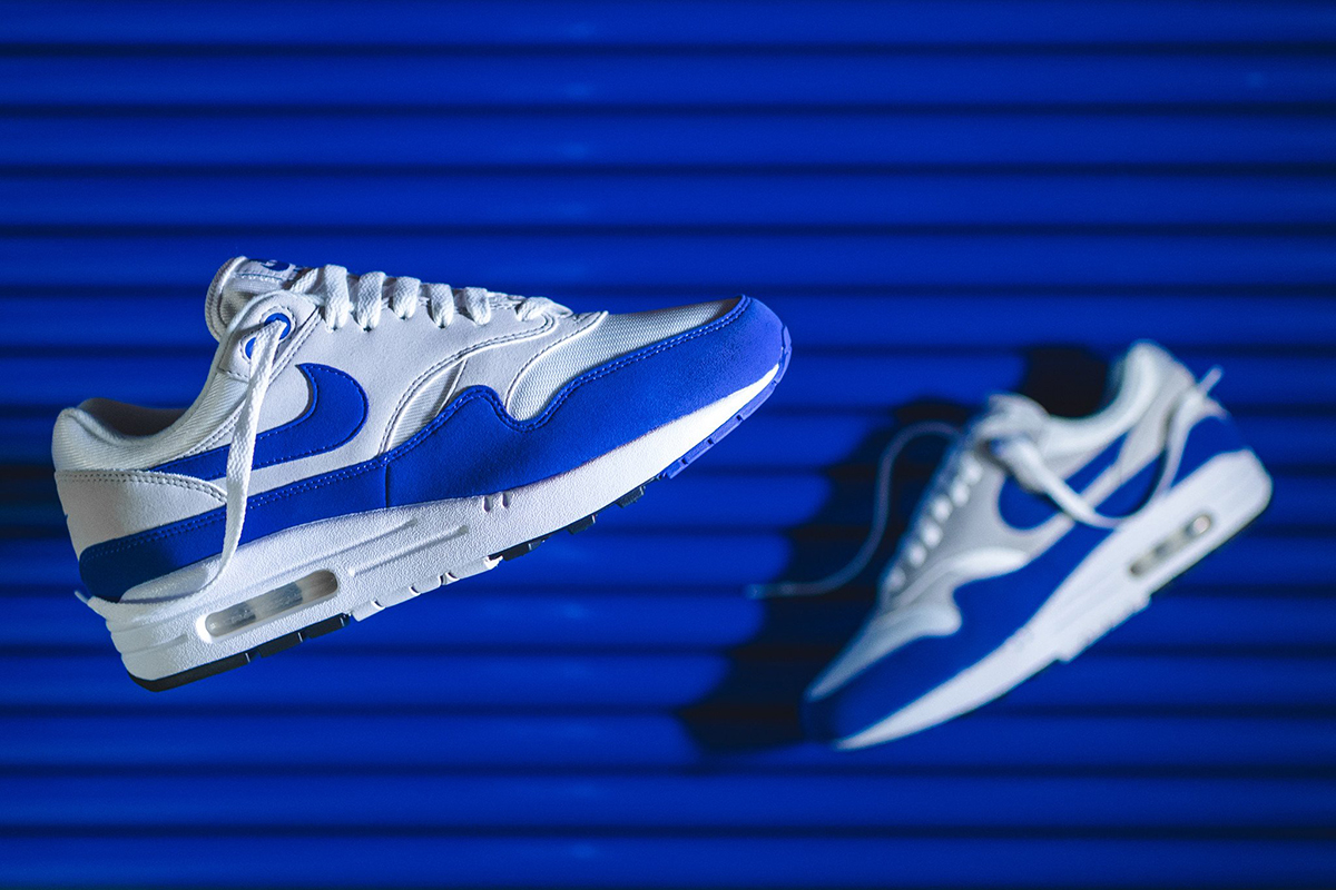 differently bf114 3c355 ... buy nike air max 1 anniversary og blue to re release e1f8e a83dd