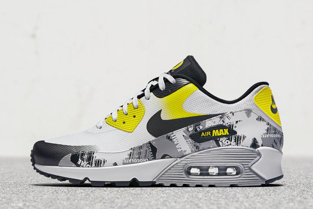 """e9b1a70ac9 ... John Mayer s """"Pickle Rick"""" Nike iD Air Max 90 · Nike Air Max ..."""