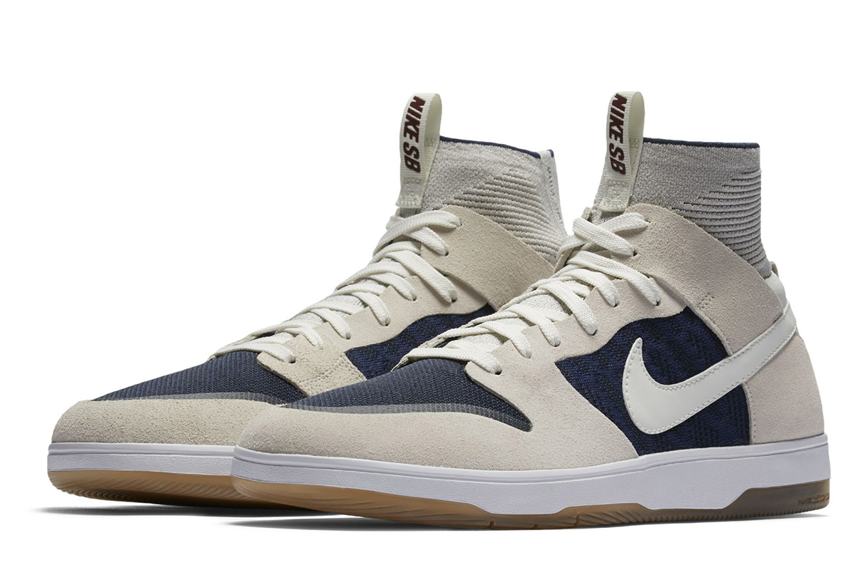 Nike SB Zoom Dunk High Elite to Release in Off-White and Dark Blue