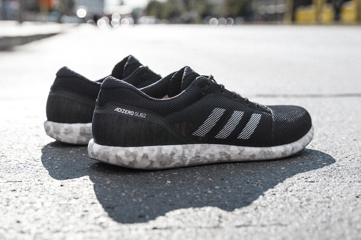 adidas Adizero Sub2 on Marble BOOST Sole for Berlin Marathon