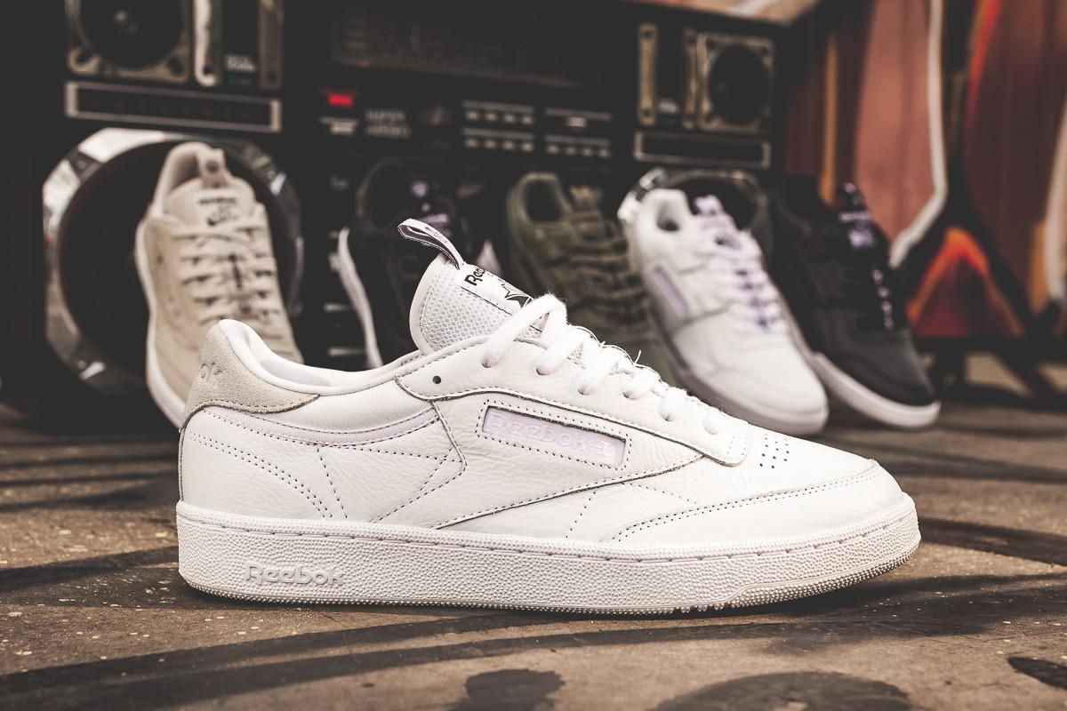 """2b68ba9bf92df4 Reebok Club C 85 IT """"Iconic Taping"""" White - OG EUKicks Sneaker Magazine"""