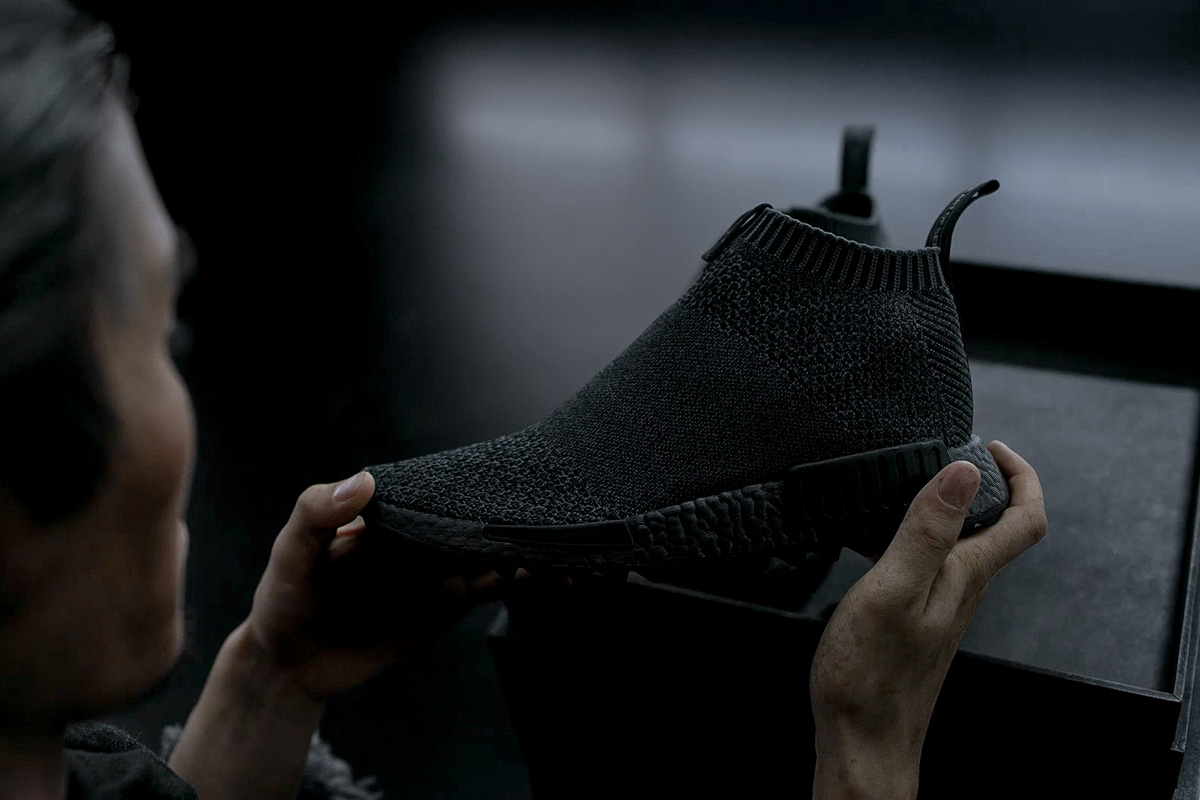 timeless design 01875 cec8a Video: The Good Will Out x adidas Consortium NMD CS1 PK ...