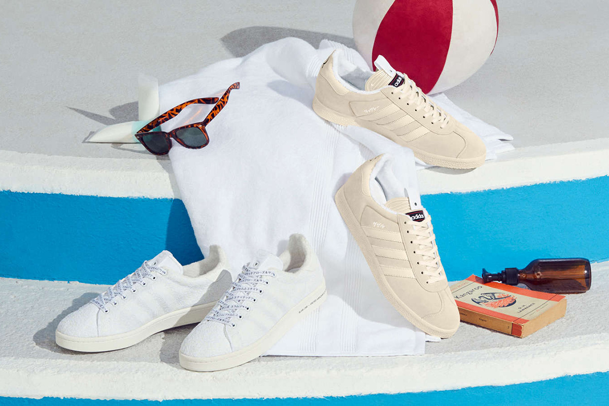 huge discount 49b7e 225e8 adidas Gazelle   Campus x United Arrows ...