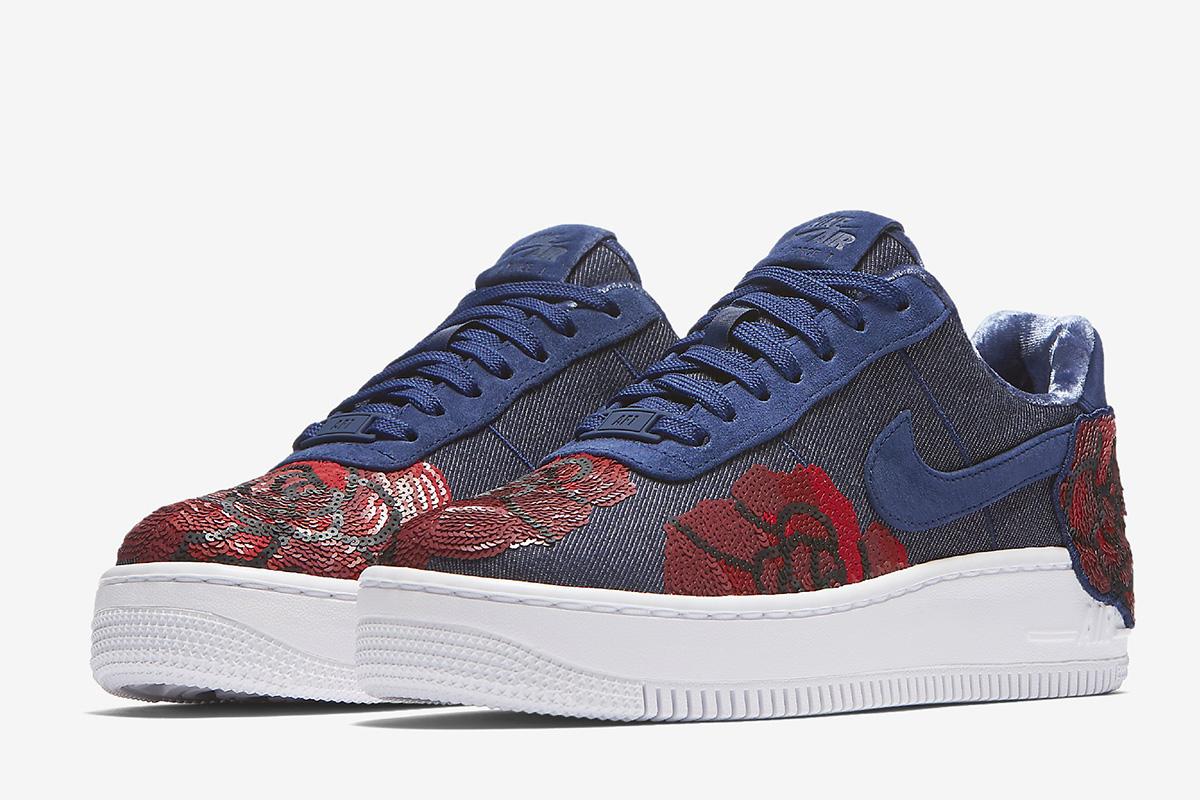 6f8e125120e Sneaker 1 LX Air Blue Force EU Binary Upstep Kicks WMNS Nike v1q7pp