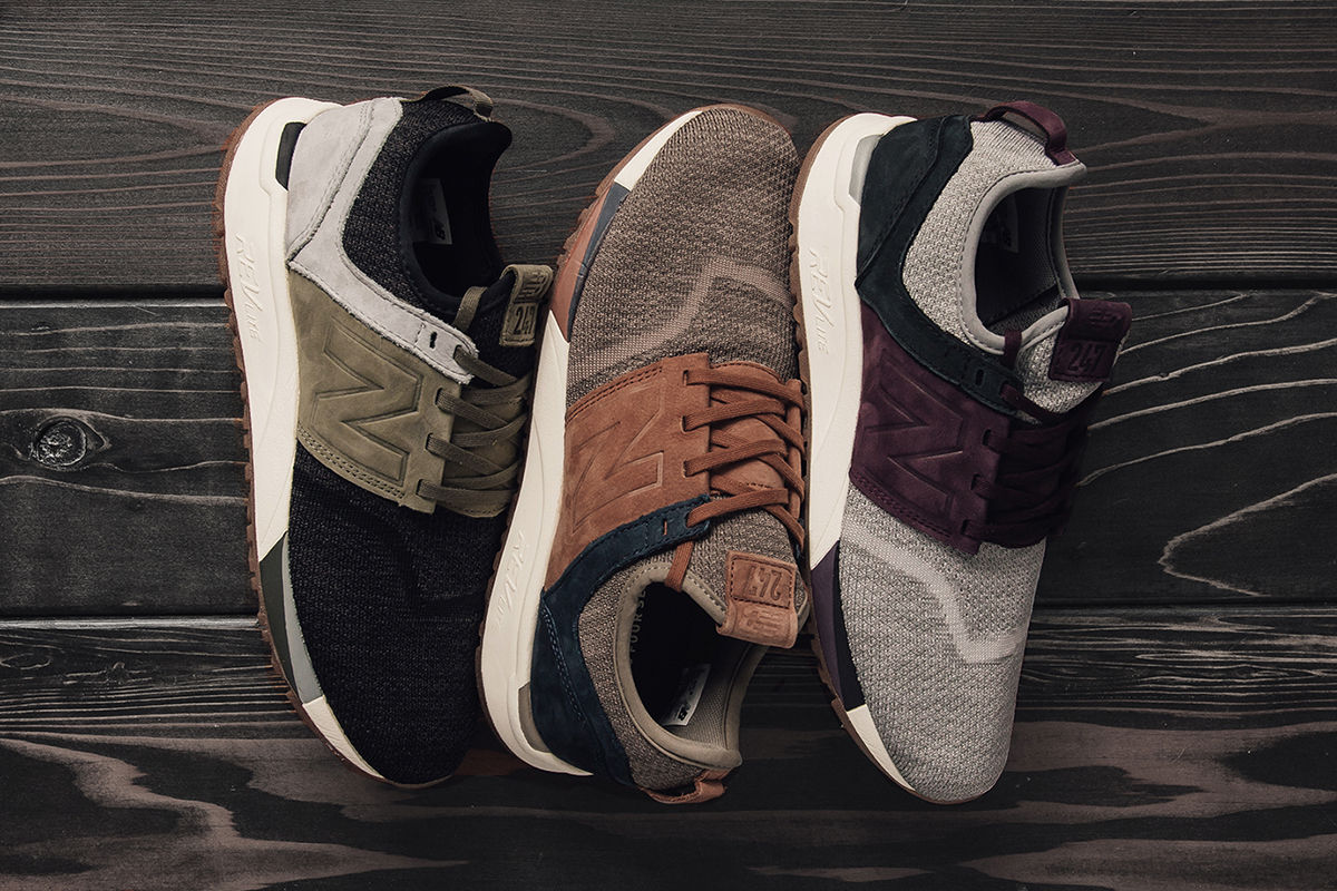 new balance 247 luxe knit