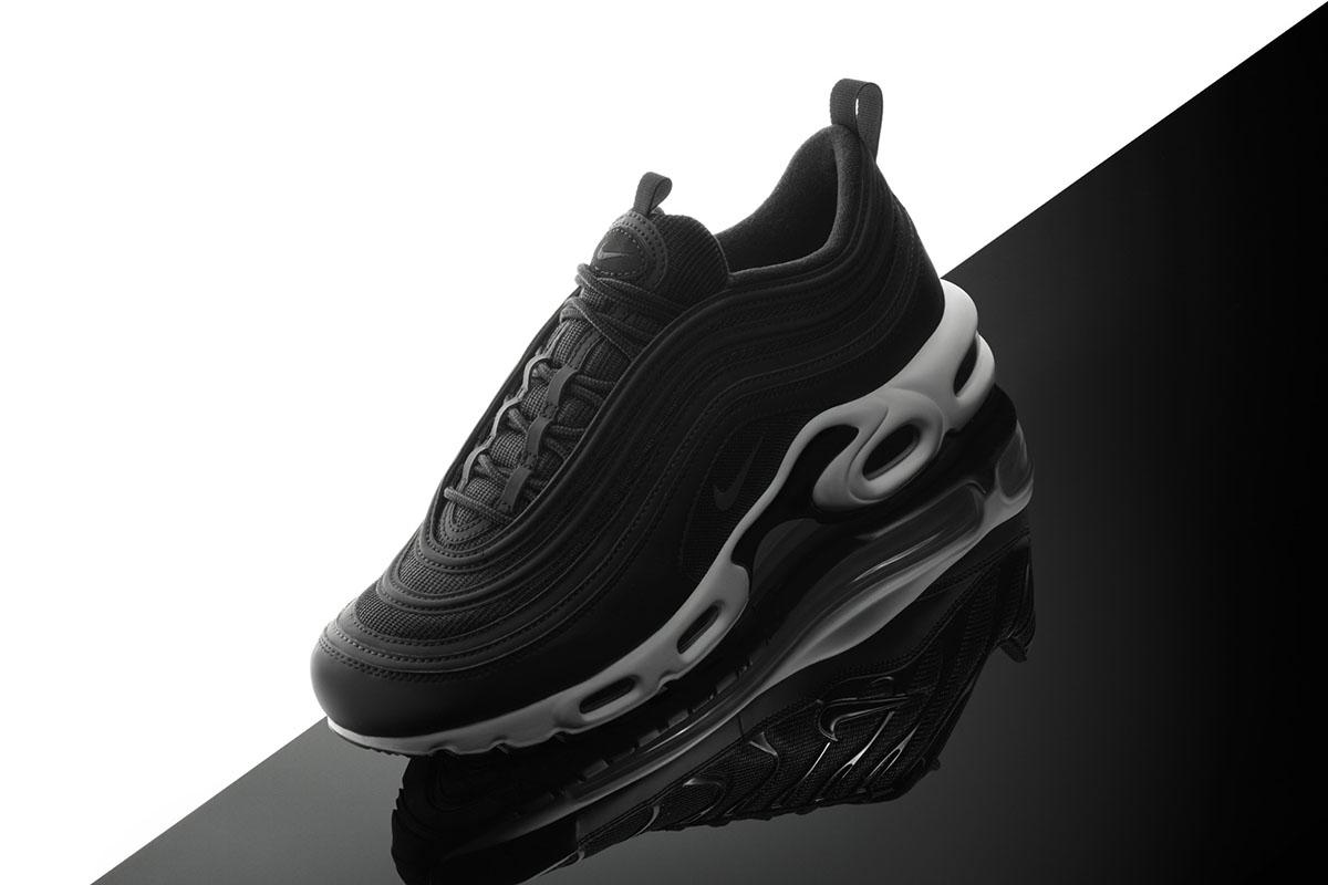 "Nike Air Max Plus 97 ""Black/White"""