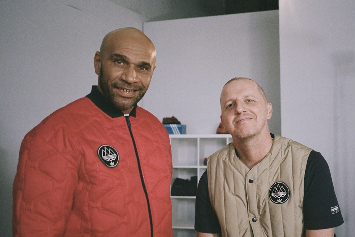 "Gary Aspden & Goldie on ""Drop 2"" adidas x SPEZIAL AW17 Collection"