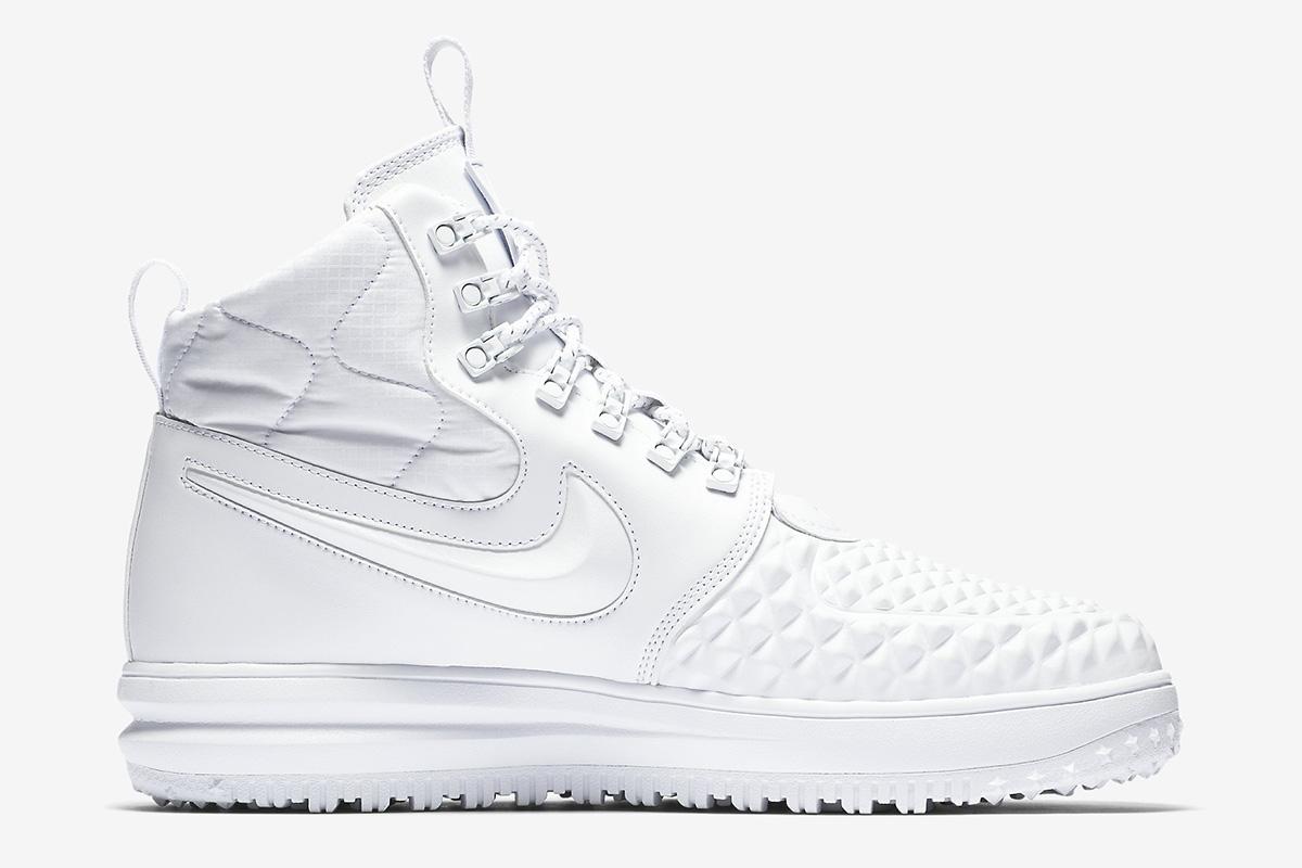 """Nike Lunar Force 1 '17 Duckboot IBEX """"Triple White"""""""